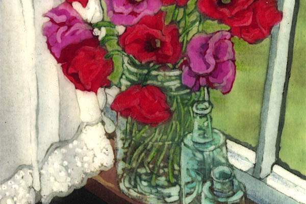 Sylvia Ridgway<br/>Cottage Window (detail)