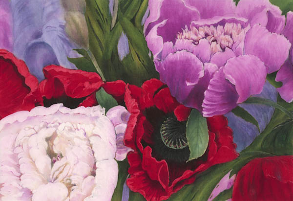 Sylvia Ridgway<br/>Flowers of Summer (detail)