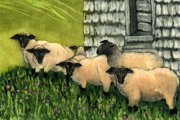 Sylvia Ridgway<br/>The Flock (detail)